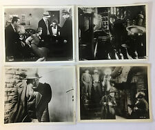 M vintage movie 8x10 photographs ~ lot of 4 ~ FRITZ LANG, PETER LORRE