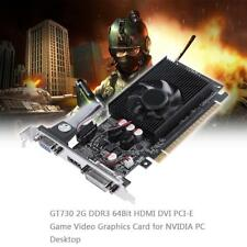 GT730 2GB DDR3 64Bit HDMI DVI PCI-E Game Video PC Graphics Card for NVIDIA