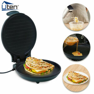 """Electric 12"""" Pizza Maker 1200W Oven Fast Multifunction Compact Metal"""