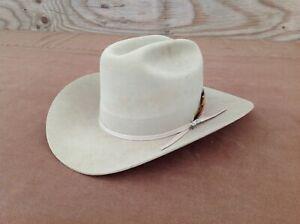 Stetson 4X Beaver Cowboy Hat Size 7 1/4