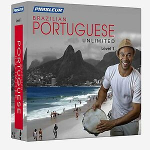 NEW Pimsleur Unlimited PORTUGUESE BRAZILIAN Language Course 30 Lessons