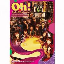 SNSD GIRLS' GENERATION [OH!] 2nd Album CD+Photo Book+Photo Card K-POP SEALED