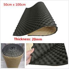 Universal 20mm Car Deadening Proofing Hood Sound Shield Absorber Acoustic Foam