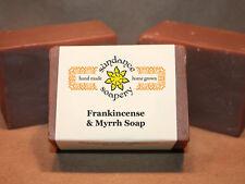 Homemade Soap ~ Frankincense & Myrrh ~ Handmade Soap ~ Holiday Soap