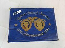 Avon 1776 Bicentennial Clear Glass Plate In Box A18
