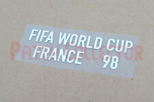World Cup 1998 France White Sleeve Soccer Patch / Badge