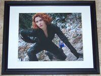 Scarlett Johansson BLACK WIDOW Signed Autographed 11x14 Photo GA GV GAI COA!