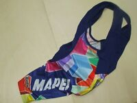 Maillot Body Salopette Vélo Cyclisme Cuissard Sport Team Mapei SANTINI Taille M