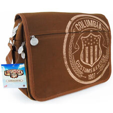BioShock Infinite Columbia Customs Canvas Messenger Bag NEW SEALED