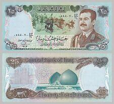 Irak / Iraq 25 Dinars 1986 p73 unc.