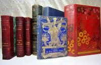 Lot livres anciens Terres Chinoises - Contes bleus illustré Yan'Dargent