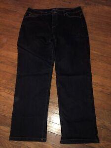 Bandolino Mandie Dark wash Petite Denim Stretch Jeans Size 16P