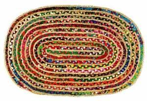 Rag rug jute rugs woven abstract rugs handmade Jute rug indian rugs decorative r