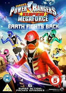 Power Rangers - Super Megaforce Volume 1: Earth Fights Back [DVD][Region 2]