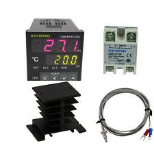 220V Digital PID Temperature Controller ITC-100VH Control fan temp Thermostat