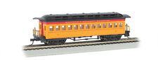 Ho Bachmann Western & Atlantic Yellow Wooden Coach Car #13406 W&A Yellow & Red