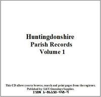 Huntingdonshire Parish Registers - Complete Phillimore Marriages Records