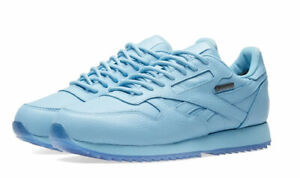 REEBOK x RAISED BY WOLVES Men's Leather Ripple Sneakers, Cape Blue, 12