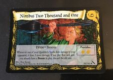 Harry Potter TCG Chamber of Secrets Nimbus Two Thousand and One FOIL 38/140