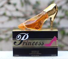 2PK PRINCESS (Gold & Black Shoes) EAU DE PARFUM PERFUME 3.4 OZ EBC COLLECTION