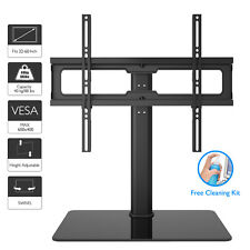 "Table Top Pedestal TV Stand for 32"" 37"" 40"" 42"" 43"" 50"" 55""60"" LCD/LED/Plasma TV"