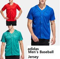 adidas Men's Baseball Jersey S,M,L,2XL