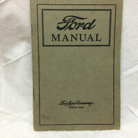 Vintage 1926 Ford Manual Ford Motor Company