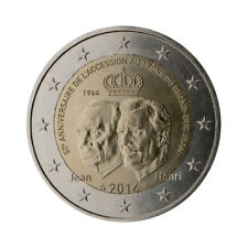"Luxembourg 2 Euro commemorative coin 2014 ""Accession to the throne"" - UNC"