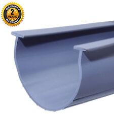 """Garage Door Bottom Weather Seal Strip Replacement Gray - 3.75"""" Width - 20 Foot"""