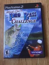 Mark Davis Pro Bass Challenge PS2 Sony PlayStation 2 Cib Game XP1