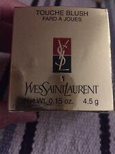 Yves Saint Laurent: Touche Blush Fard à Joues 1 Nuovo! Assolutamente integro