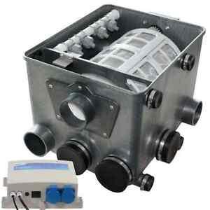 AquaForte Trommelfilter ATF-1 mit Steuerung 25m³/h Koi Teich Filter neues Modell