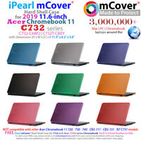 "NEW mCover® Hard Shell Case for 2019 11.6"" Acer Chromebook 11 C732 series Laptop"