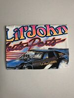 Vintage NHRA Lil John Auto Parts Funny Car T-Shirt - Fits Like XLARGE (No Tags)