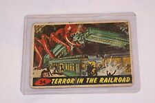 "1962 Mars Attacks ""Terror in the Railroad"" #34"