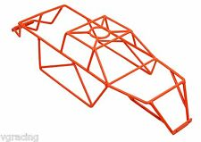 Team Associated Monster GT MGT 8.0 or Rival Powder Coated Orange Roll Cage By VG