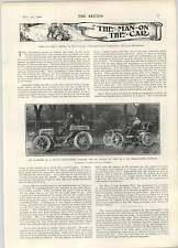 1902 10 e 12 CV PANHARD muschi JH Taylor CHAMPION Golf totteridge