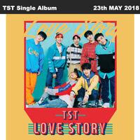 TOP SECRET TST Love Story Single Album CD+Poster+Booklet+PhotoCard KPOP
