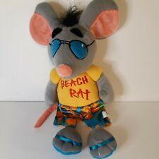"New listing Nanco Beach Rat Plush Doll Toy 20"" 2008 Stuffed Animal Collectible Rare Vintage"