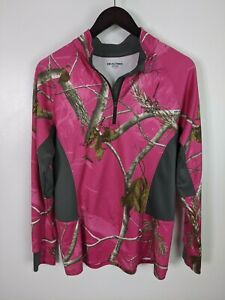 Realtree Pink Camo Pull Over Women's Large 42-44