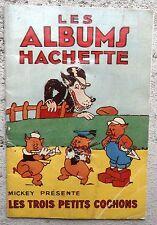 Catalogue les albums hachette 1934