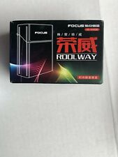 FOCUS Brand New Cigarette Holder Box with Removable USB Electronic Lighter joint