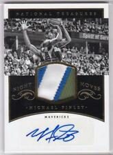 2014-15 Michael Finley #/25 Jersey Patch Auto Panini National Treasures