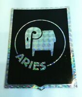 Vintage 1970's Aries Prismatic Decal Sticker Astrology Horoscope Prism