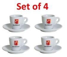 HAUSBRANDT Espresso Cup Art Collection Set of 4 Espresso Cups + Saucers NEW