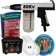 Powder Coating Kit 80kv Home Amp Business Powder Coating Gun Kit Machine System
