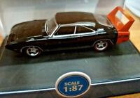 Dodge Charger Daytona 1969 Black - Scala HO 1:87 - Oxford - Nuova