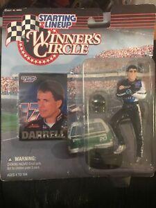 1997 DARRELL WALTRIP - Winner's Circle Starting Lineup Figurine Damaged Card