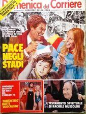 La Domenica del Corriere 14 Novembre 1979 Madre Teresa Calcutta Bosè Arlecchino