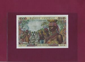 Equatorial African States CHAD 1000 Francs 1963 P-5e VF  TCHAD